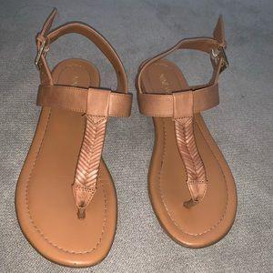 Cute Cognac Sandals